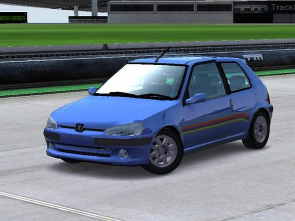 Trackmania Carpark 3d Models Peugeot 106