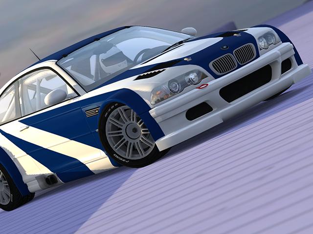 Trackmania Carpark 3d Models Bmw M3 Gtr E46