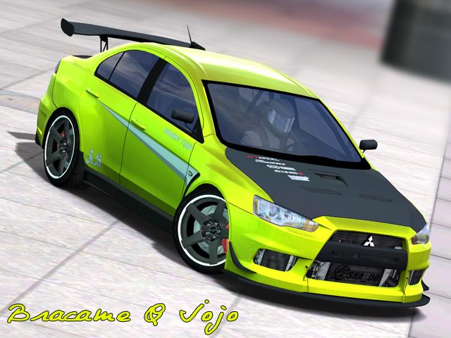Mitsubishi Lancer Evolution X Street. Car