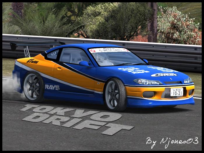 Trackmania Carpark • 3D Models • Nissan Silvia S15 Tokyo Drift