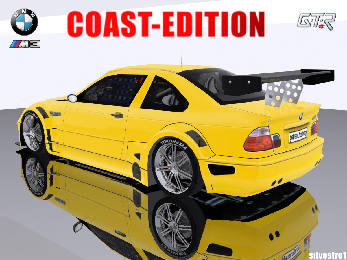 Trackmania Carpark 3d Models Bmw M3 E46 Gtr