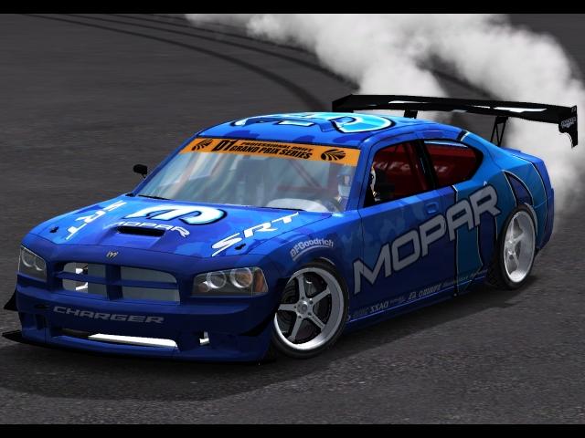 Trackmania Carpark 3d Models Dodge Charger Drift