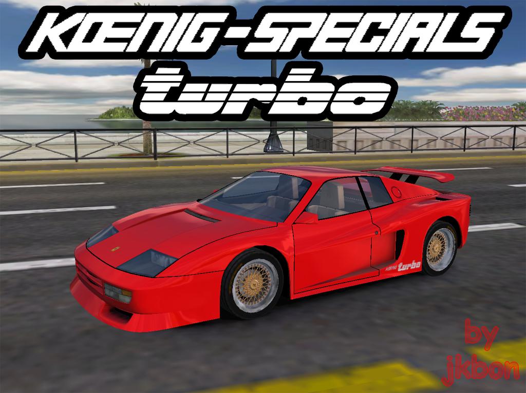 Trackmania Carpark 3d Models Ferrari Koenig Testarossa