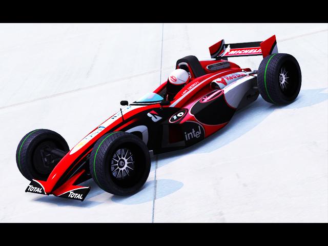 Trackmania Carpark • 2D Skins • [RuSC] Pagani F1