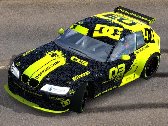 Trackmania Carpark 2d Skins Bmw Z3 Dc Rallycross