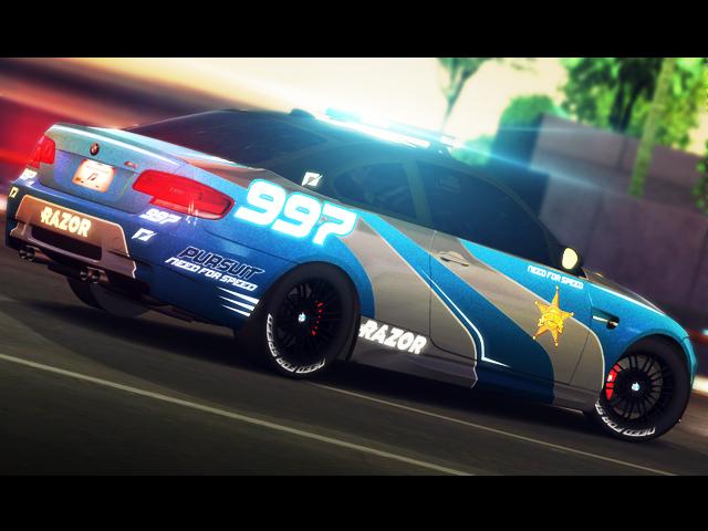 Trackmania Carpark 2d Skins Bmw M3 Nfs Bad Sheriff