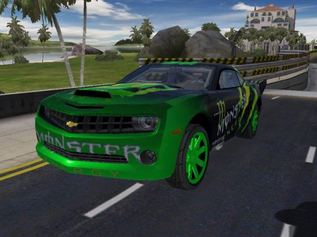 Trackmania Carpark 2d Skins Chevrolet Monster Camaro