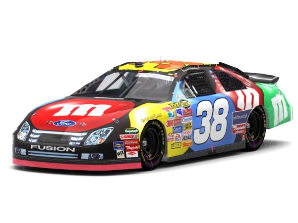 NASCAR Cup 38 Gilliland Mms
