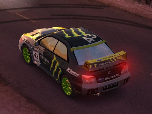 Subaru Impreza Monster Energy. Skin