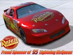 Trackmania Carpark  U2022 2d Skins  U2022 Nascar  95 Rust