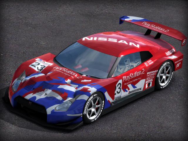 Trackmania Carpark Skins Gt R Concept Lm Race Car