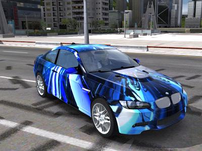 Trackmania Carpark 2d Skins Bmw M3 E92 C4d Custom Blue