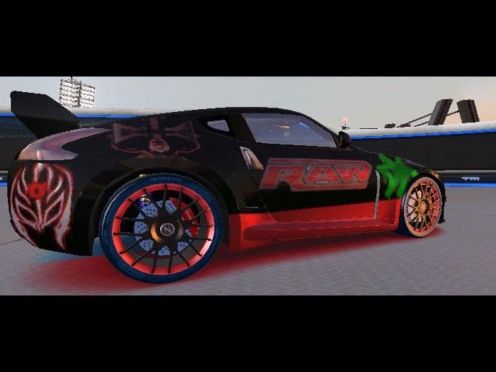 2018 Nissan 370z Nismo >> Trackmania Carpark • 2D Skins • 370z WWE