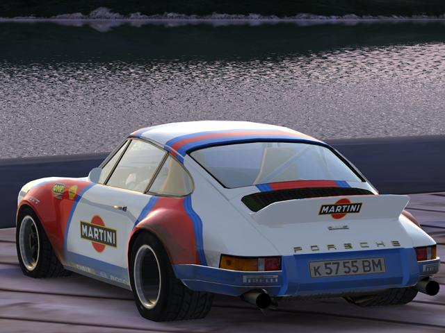 trackmania carpark 2d skins 911 martini white. Black Bedroom Furniture Sets. Home Design Ideas