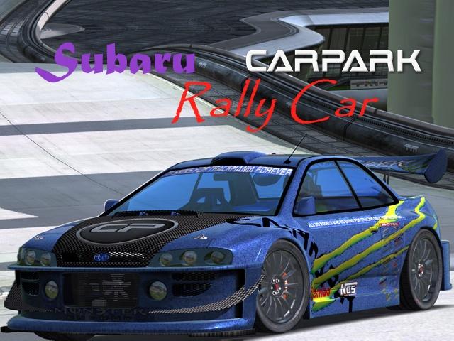 Trackmania Carpark • 2D Skins • SuBaru Rally Car