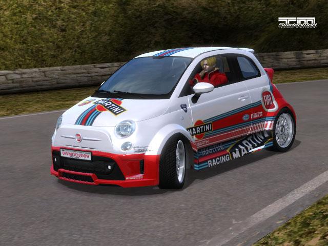 Trackmania Carpark View Topic Fiat 500 Abarth Martini