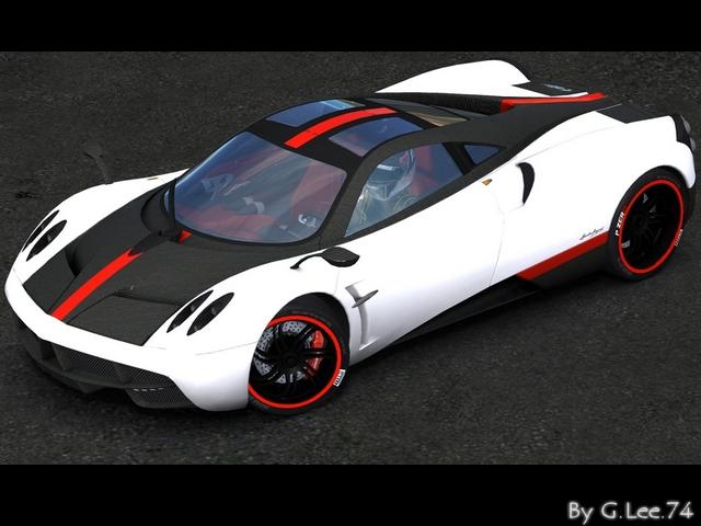 Trackmania Carpark • 2D Skins • Pagani Huayra Cinque