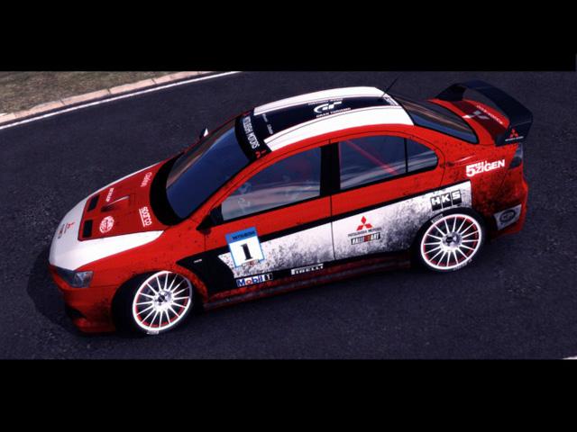 Trackmania Carpark 2d Skins Lancer Evo X Rally Car