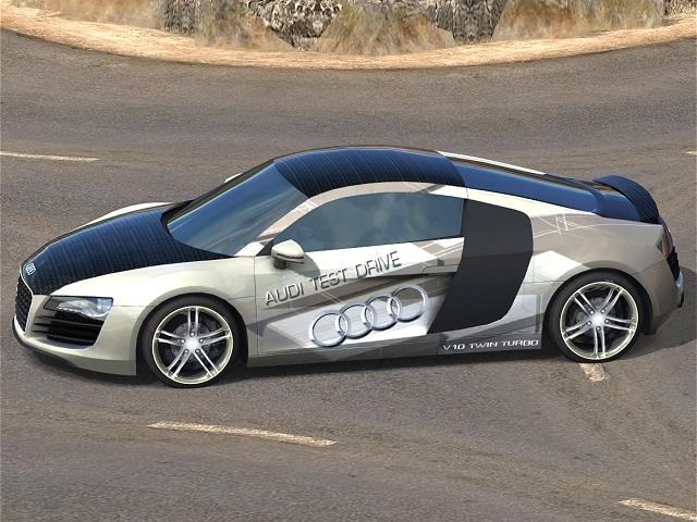 Trackmania Carpark D Skins Audi R Test Drive V TwinTurbo - Audi test drive