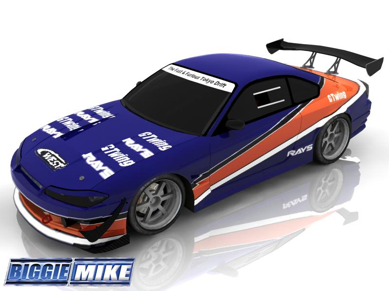 Trackmania Carpark Skins Fast Furious Tokyo Drift Sil