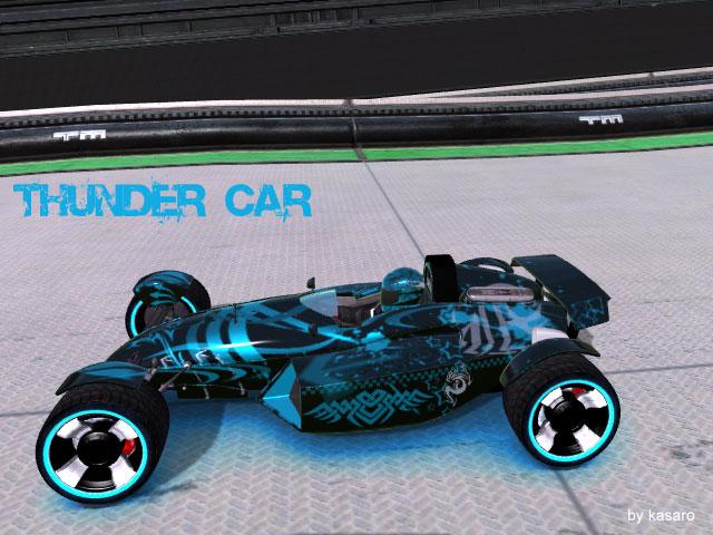Thunder Car Skin