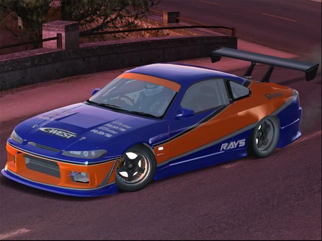 Trackmania Carpark 2d Skins S15 Tokyo Drift