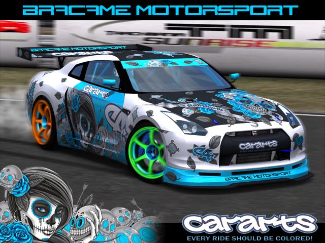Trackmania Carpark 2d Skins Nissan Gtr Non Grata