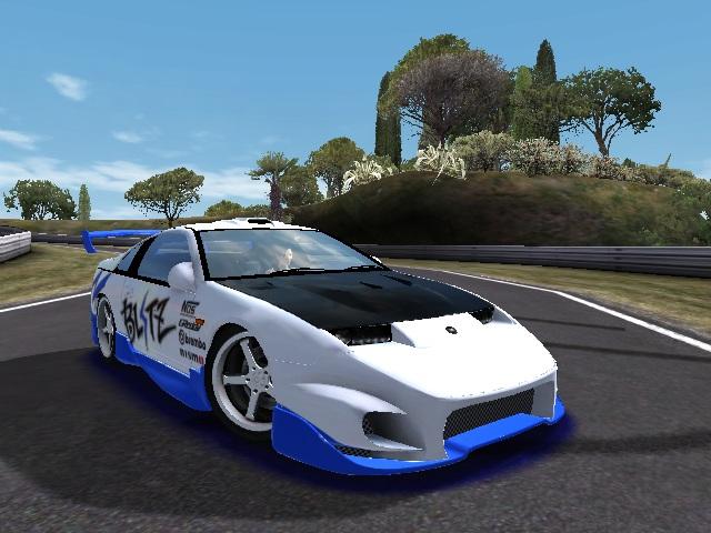 Trackmania Carpark 2d Skins Fairlady 300zx Blitz Tuning